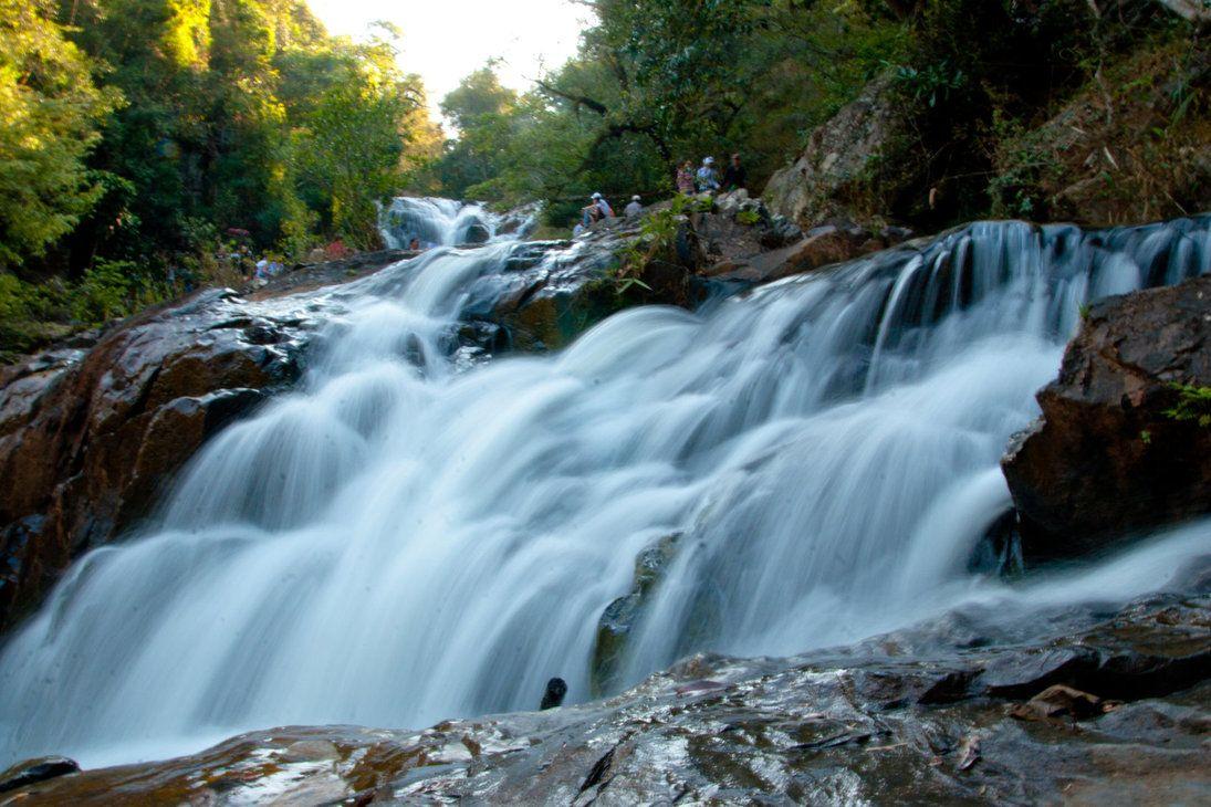 Vẻ đẹp của thác Datanla