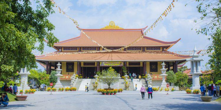 Các khu vực trong Thiền Viện
