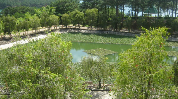 Hồ Tĩnh Tâm tại Thiền Viện Trúc Lâm